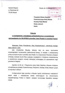 Petycja o sprawdzenie pomnika Jana Pawła II