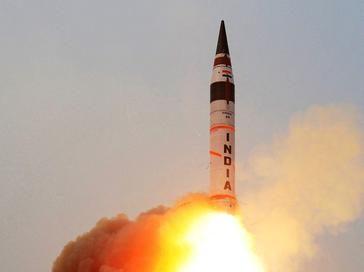 Indie z sukcesem testują międzykontynentalny pocisk balistyczny