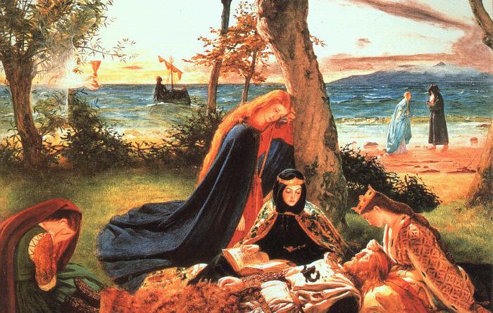 W Toruniu odkryto malowidło przedstawiające króla Artura