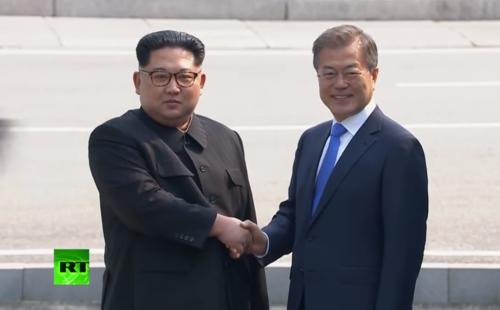 Spotkanie przywodcow obu Korei