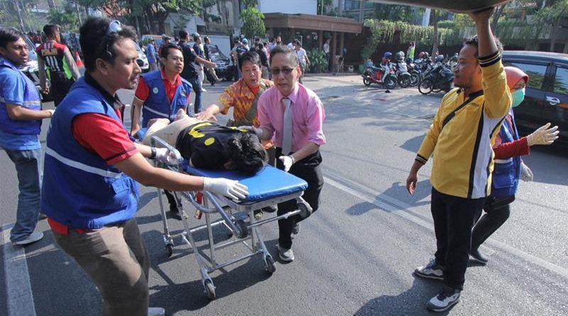 atak terrorystyczny indonezja