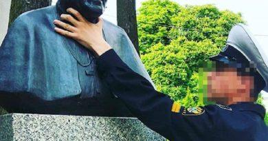 Profanacja pomnika Jana Pawła II