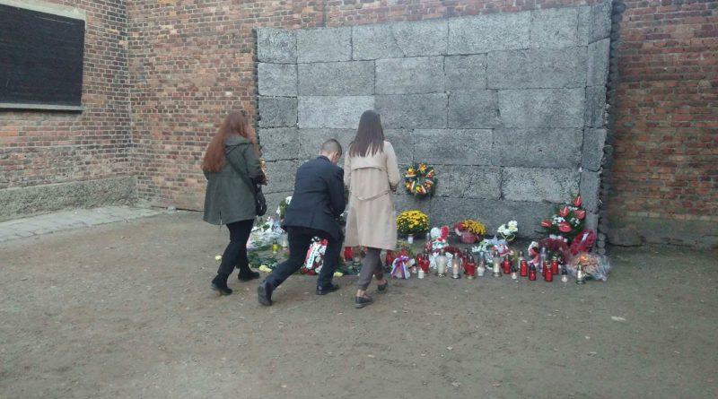 Wszechpolacy z małopolski i śląska oddali w Auschwitz hołd Mosdorfowi