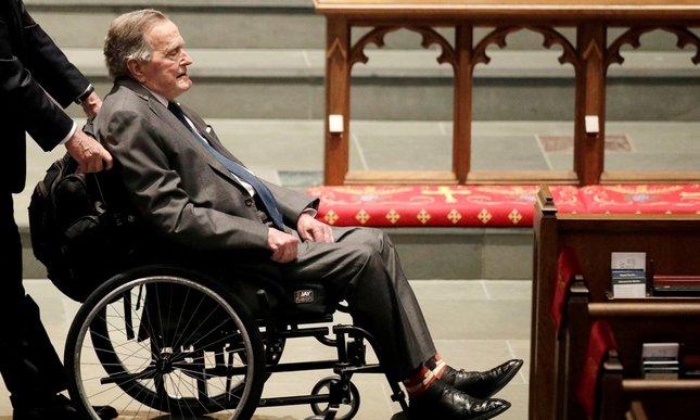 śmierć Georga H. W. Busha