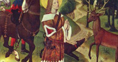 Piotr Baliński: Św. Hubert z Liègie, czyli o łowiectwie słów kilka
