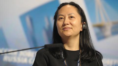 CFO firmy Huawei zatrzymana