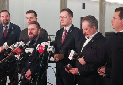PILNE: W Sejmie powstało koło poselskie koalicji Konfederacja