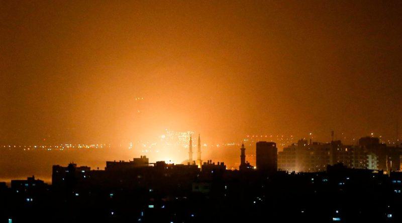 Izrael: Rakiety nad Tel-Avivem, Izraelskie siły przeprowadziły odwet [Wideo]