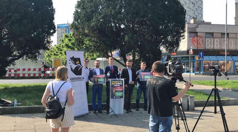 Szczecin: Konfederacja zbiera podpisy pod zmianą nazwy placu im. Adamowicza