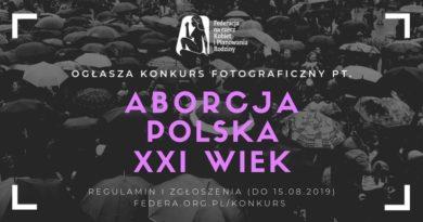 Feministki organizują konkurs fotograficzny o aborcji!