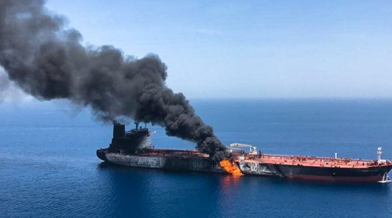 Morze Czerwone: Atak na Irański tankowiec