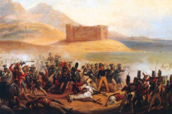 Jan Wilk: Bitwa pod Fuengirolą