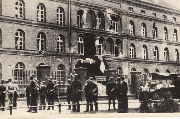 Atak na Pocztę Polską w Gdańsku