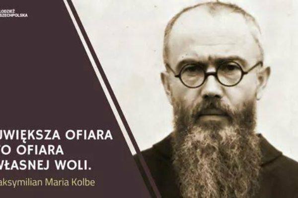 Modlitwa za wstawiennictwem Świętego Maksymiliana Marii Kolbe – Patrona Młodzieży Wszechpolskiej