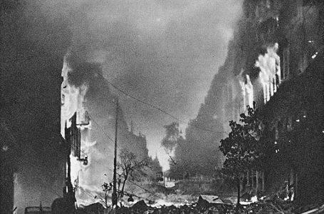 Oświadczenie Młodzieży Wszechpolskiej z 1944 roku ws. Powstania Warszawskiego