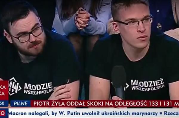 [WIDEO] Dyskusja na temat molestowanej 18-latki i masowych zatrzymań nacjonalistów na antenie TVP INFO