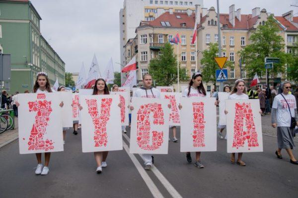 Ulicami Szczecina przeszedł Marsz dla Życia!