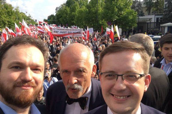 Dziesiątki tysięcy Polaków w Warszawie przeciwko ustawie 447!
