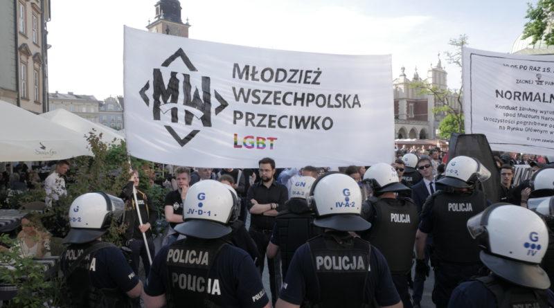 Kraków: Wszechpolacy w kontrze do parady równości zorganizowali… pogrzeb