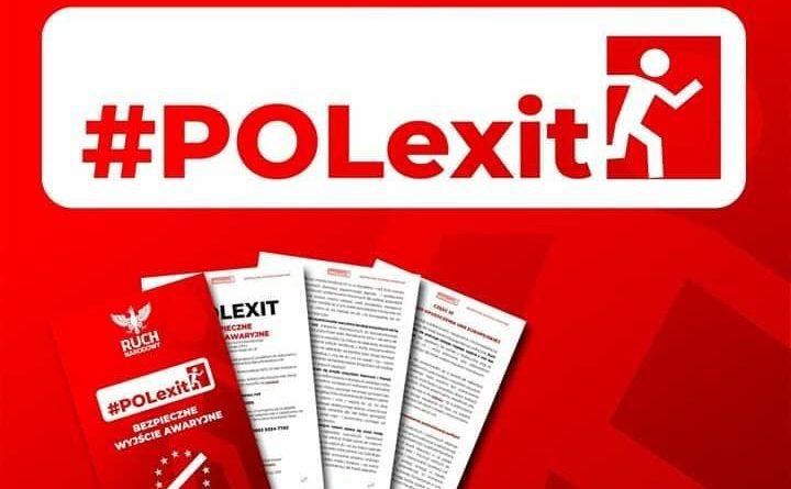"""Ruch Narodowy zaprezentował program: """"POLexit – Bezpieczne Wyjście Awaryjne"""""""