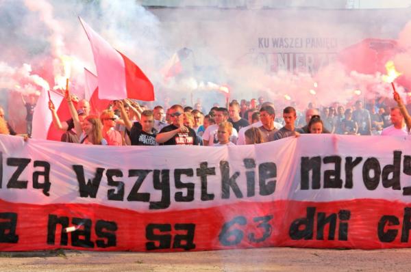Cała Polska obchodziła 75. rocznicę wybuchu Powstania Warszawskiego