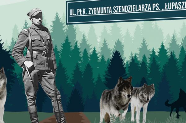 Będzie mural z Łupaszką w Białymstoku