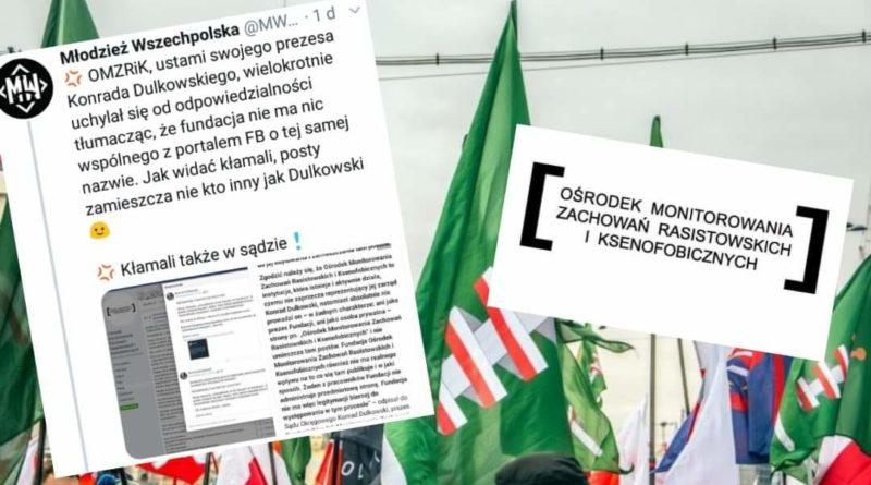 Czy to już koniec OMZRiK? Młodzież Wszechpolska wykorzystała błąd Facebooka i zapowiada proces!