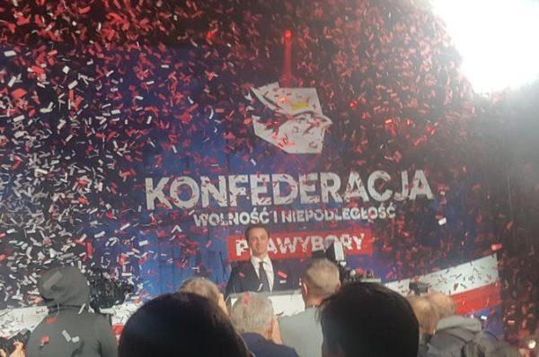 Bosak kandydatem Konfederacji na prezydenta. Korwin i Berkowicz nie poparli Dziambora