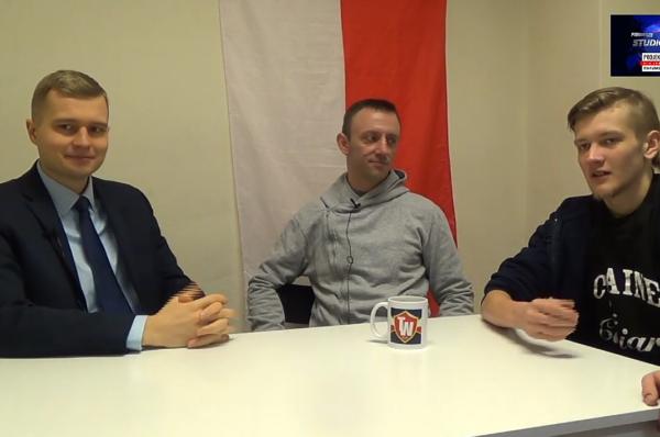 Rzecznik partii KORWiN, Karol Wilkosz chce usunięcia krzyża z sejmu?