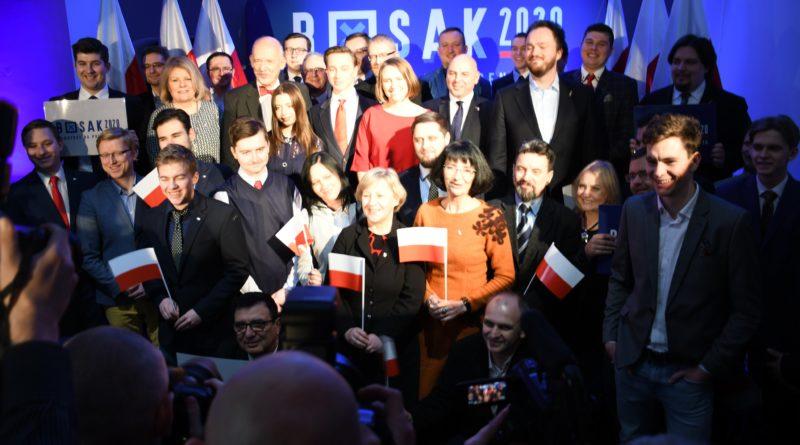 #Bosak2020 – Opublikowano skład sztabu wyborczego Krzysztofa Bosaka