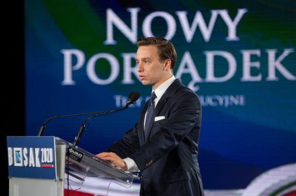 Krzysztof Bosak liczy na pokonanie Trzaskowskiego