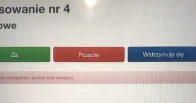 Głosowanie testowe