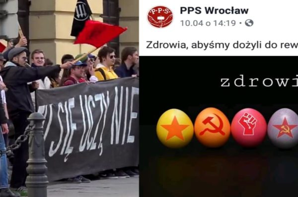 """Komunistyczne grafiki na profilu Polskiej Partii Socjalistycznej – ,,Socjalizm i komunizm to ta sama droga"""""""