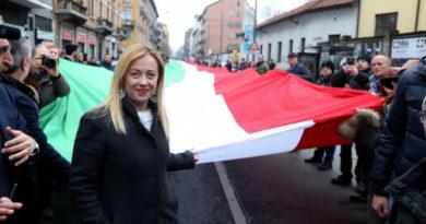 Giorgia Meloni wskazuje na brak działań Unii Europejskiej wobec epidemii we Włoszech