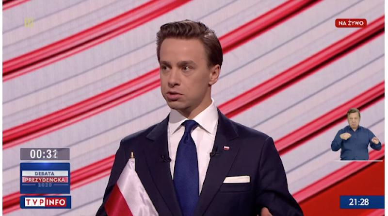 Krzysztof Bosak debata TVP