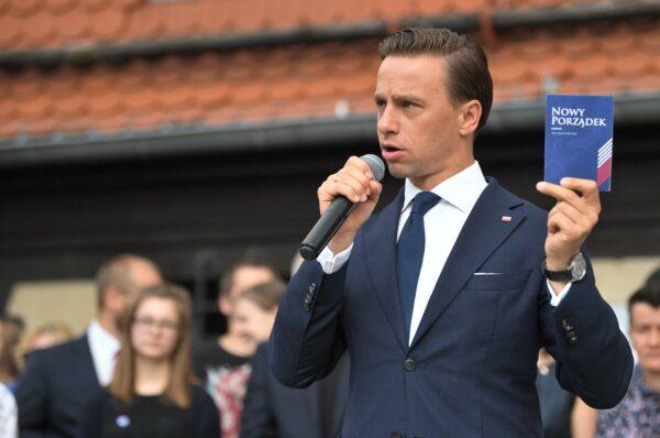 Exit poll: Krzysztof Bosak na 4. miejscu z wynikiem 7,4%
