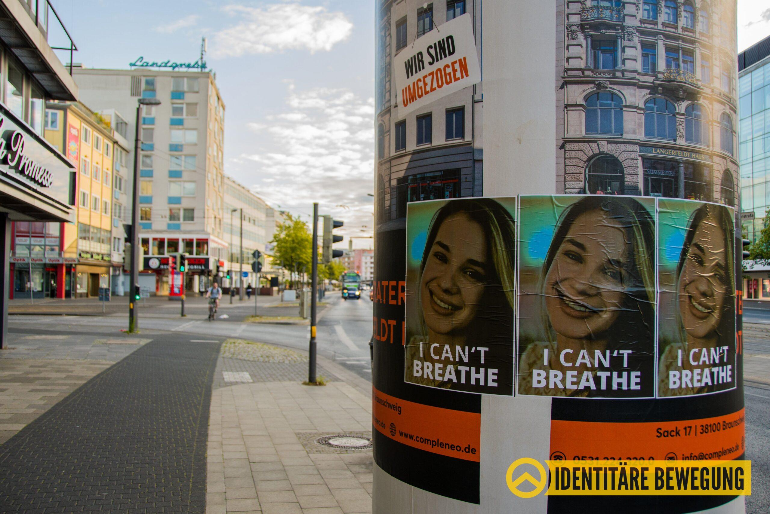 """""""White Lives Matter"""": identytaryści w Niemczech i Francji przypomnieli o ofiarach multi-kulti"""