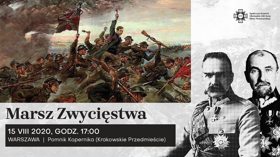 Marsz Zwycięstwa w 100-lecie Bitwy Warszawskiej