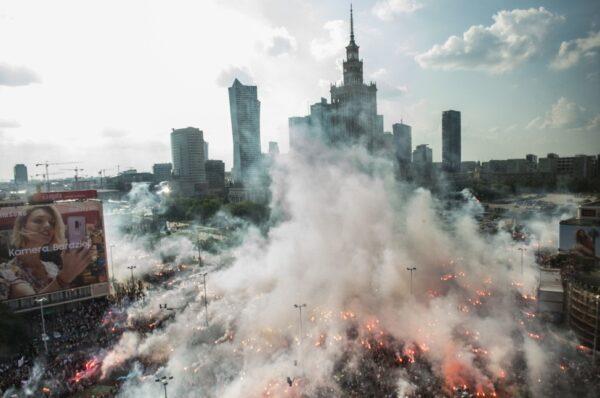 Marsz ku pamięci Powstańców Warszawskich - relacja