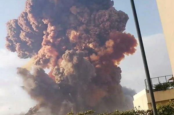 Olbrzymia eksplozja w stolicy Libanu [+VIDEO]
