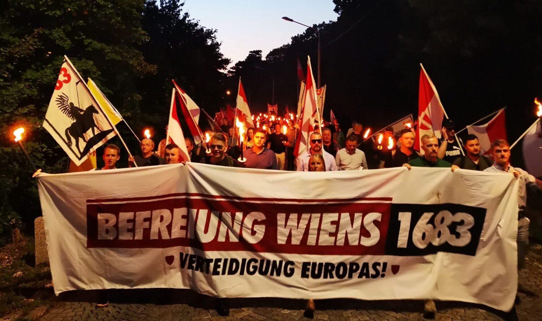 """""""Obronić Europę!"""". Marsz austriackich patriotów w 337 rocznicę Bitwy pod Wiedniem [+FOTO/WIDEO]"""