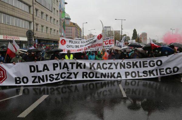 Lider Agrounii wspiera strajk feministek