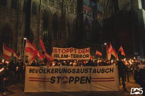 Wiedeń: Marsz pamięci ofiar islamistycznego terroru