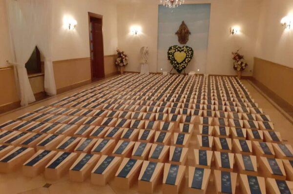 """Gończyce: pogrzeb uratowanych przed losem """"medycznym odpadów"""" 640 dzieci nienarodzonych"""