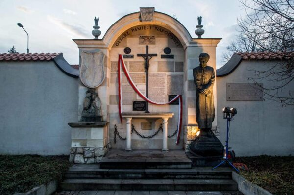 W Krakowie odsłonięto tablicę upamiętniającą Romana Dmowskiego