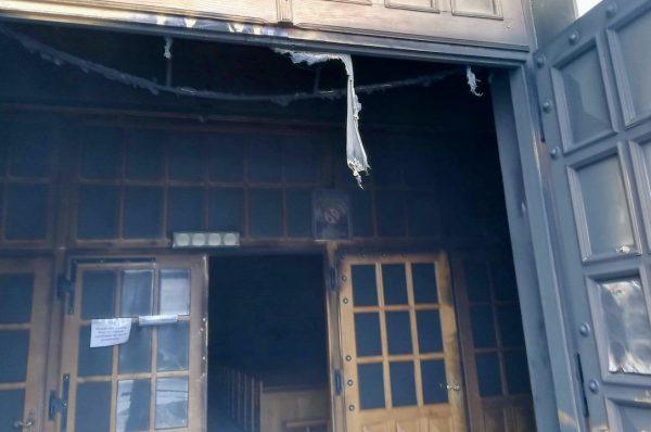 Pożar kościoła w Lublinie. Policja: duże prawdopodobieństwo podpalenia